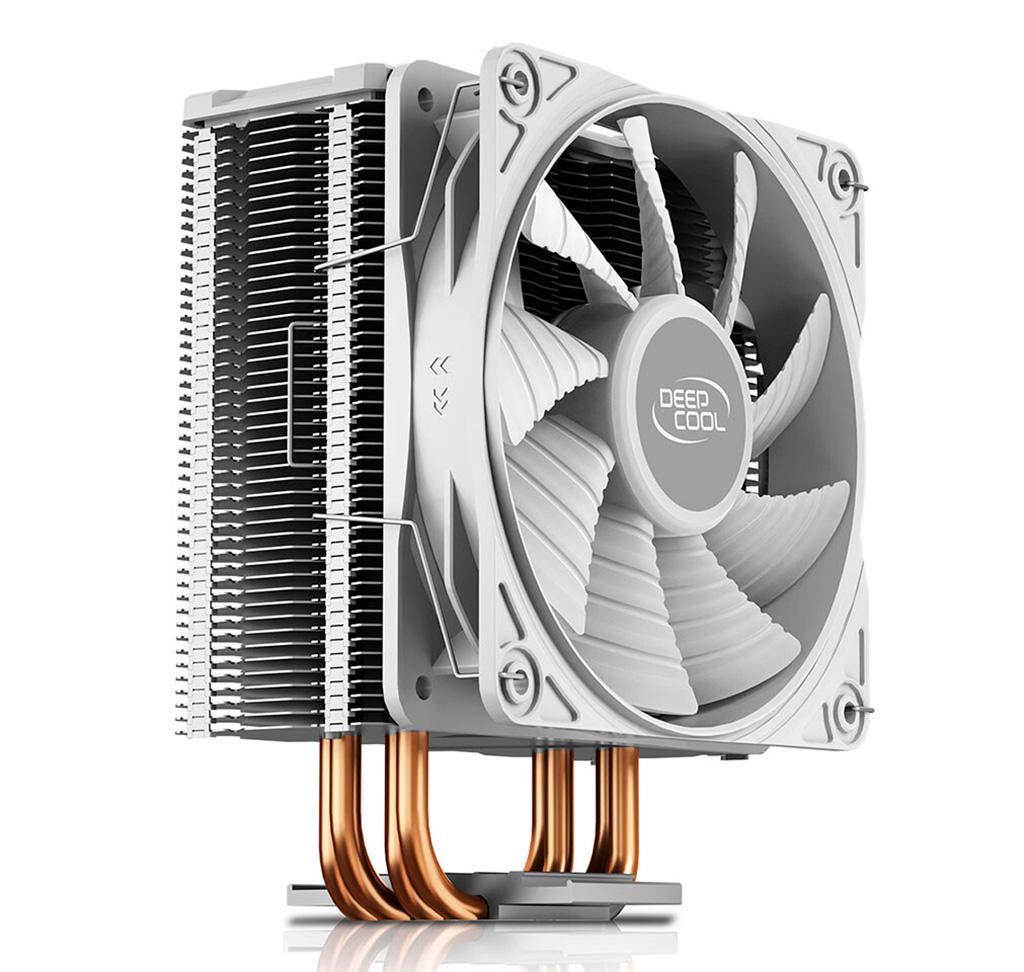 Кулер DeepCool Gammaxx GTE V2 White адресован любителям белых систем