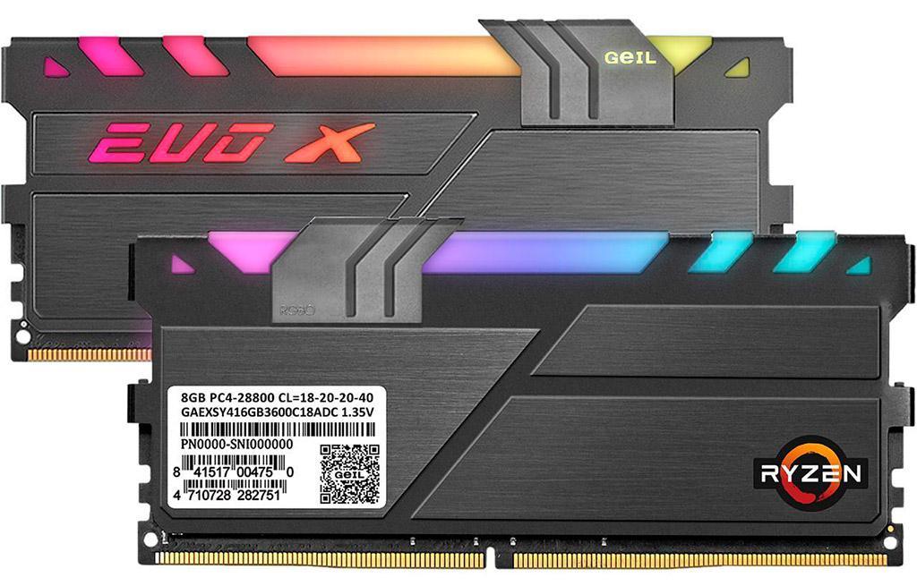 GeIL выпускает X570-оптимизированные комплекты памяти EVO X II AMD Edition