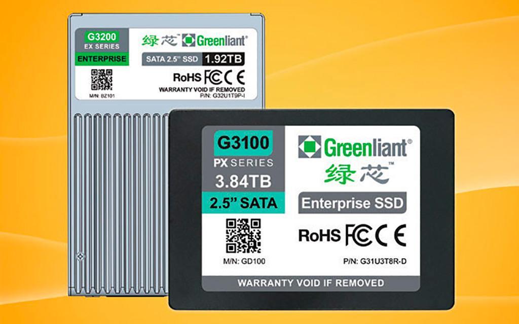 Накопители Greenliant Enterprise EX G3200 на SLC-памяти можно перезаписать 55 тысяч раз