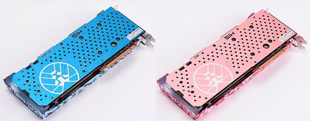 Армия уже не та: видеокарты HIS Radeon RX 5700 XT Army выполнены в необычных цветах