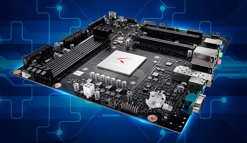 Huawei намерена выпустить десктопную материнскую плату с ARM-процессором