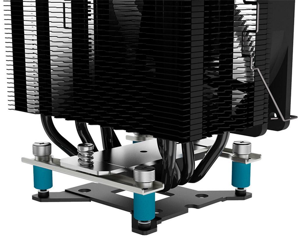 ID-Cooling SE-234-ARGB – недорогой башенный кулер с ARGB-подсветкой