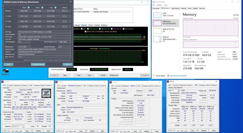 Невозможное возможно: энтузиаст «поднял» 1 ТБ оперативной памяти на платформе Intel X299