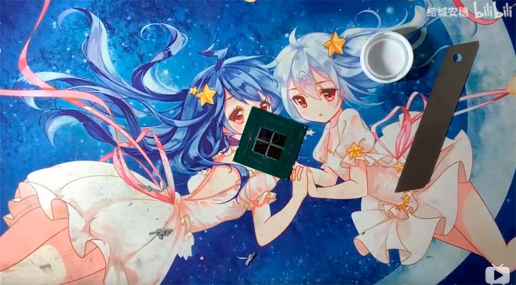 На eBay замечен очень странный процессор Intel Xeon SoMa-B3 с мультичиповой компоновкой
