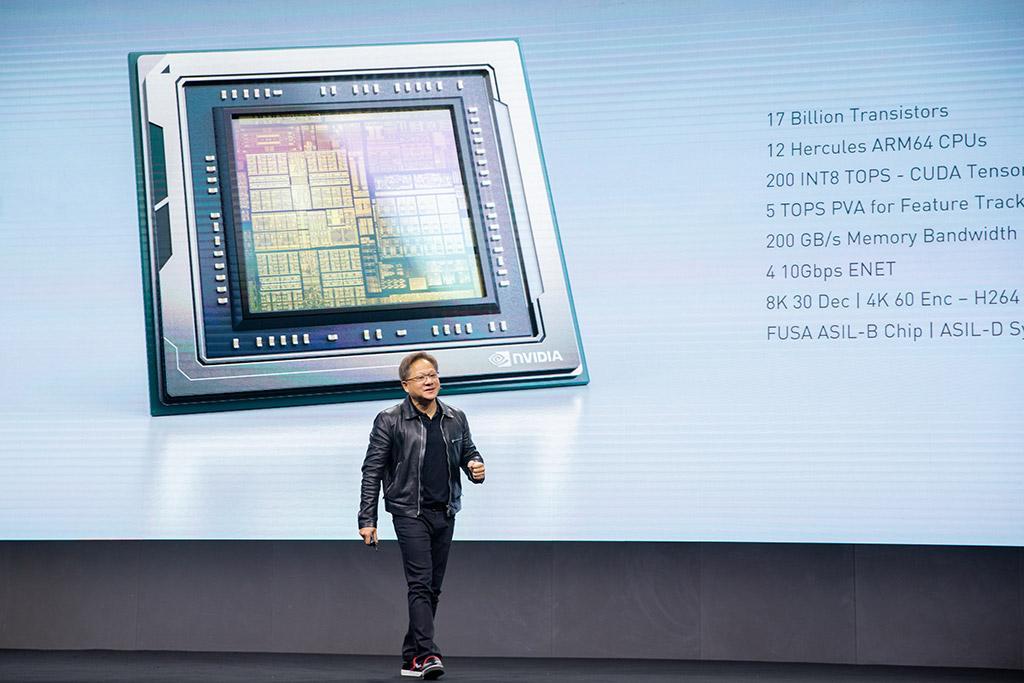 [Перевод] Чип для роботизированного транспорта Nvidia Orin