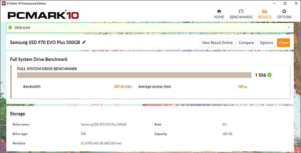 Вышел PCMark 10 Storage Benchmark для тестирования накопителей