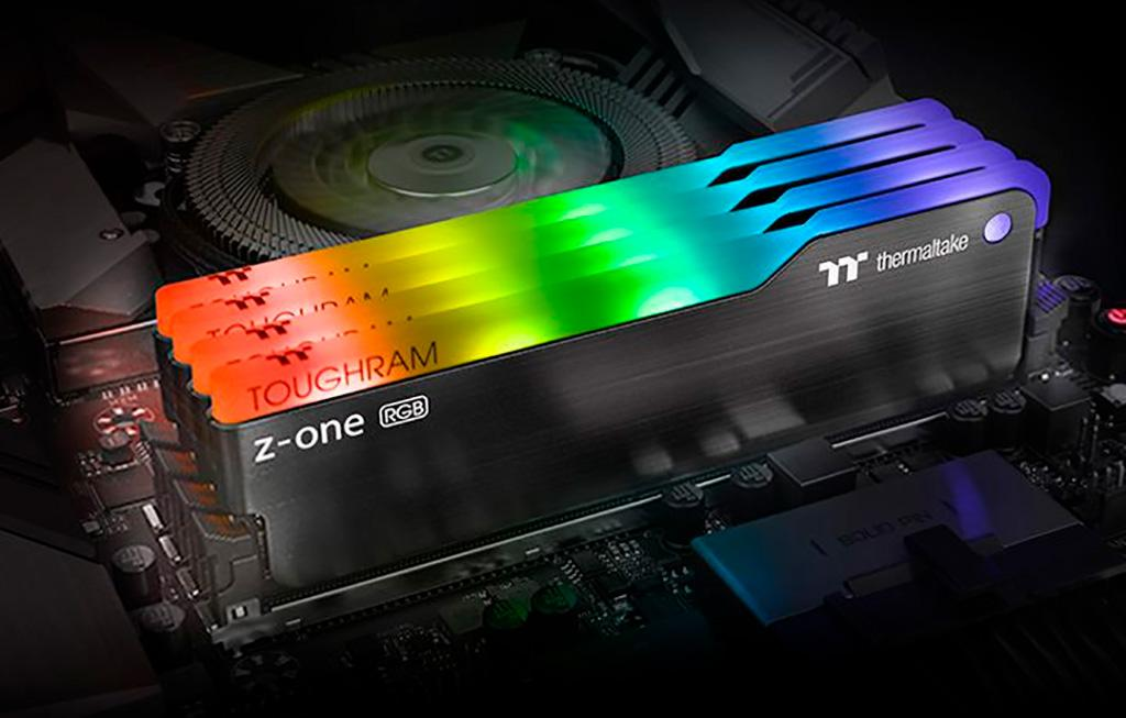 Память Thermaltake Toughram Z-One RGB DDR4 представлена только в 2х 8 ГБ «китах» и только в одной частотной вариации