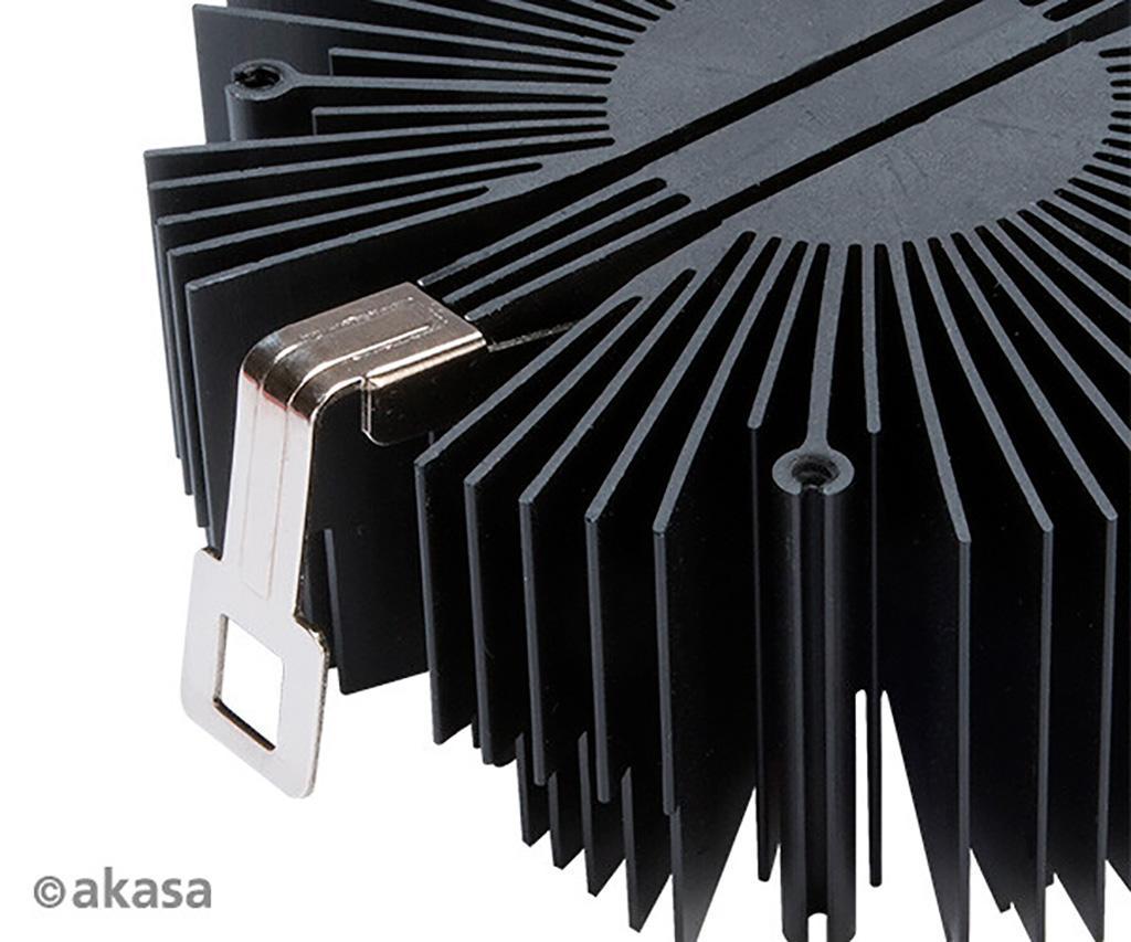 Кулеры Akasa Vegas Chroma обходятся без тепловых трубок