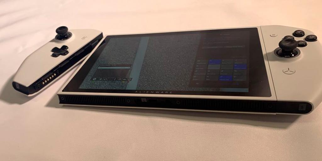 CES 2020: Alienware Concept UFO – игровая консоль на Windows с процессором AMD, очень схожая на Nintendo Switch