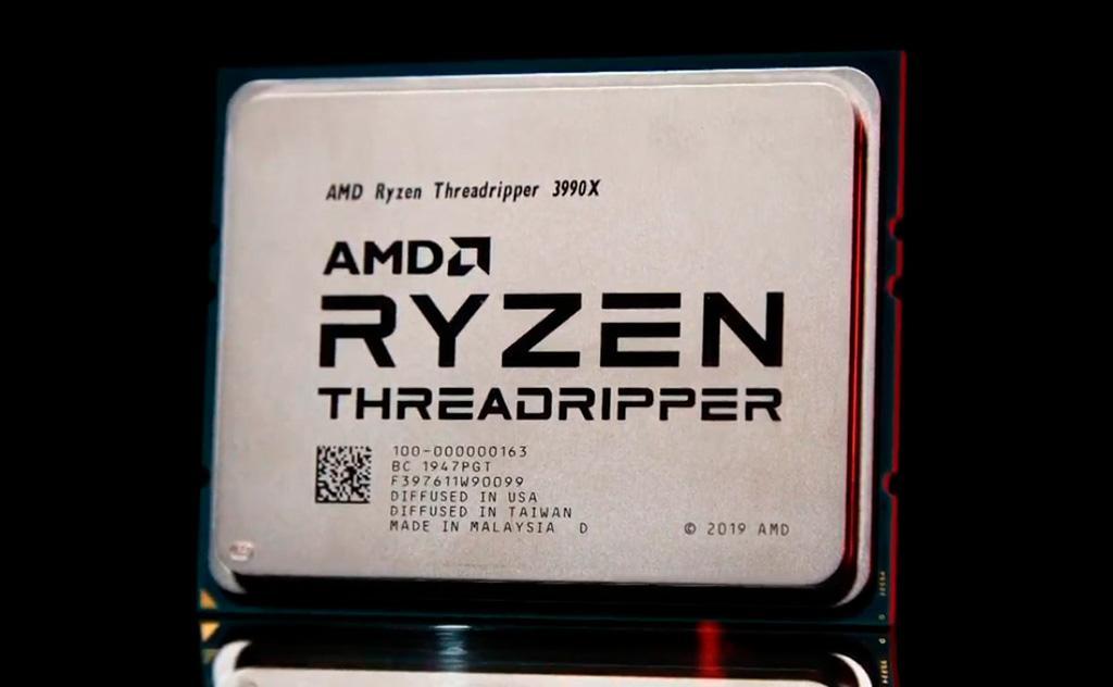 AMD назвала ценник и дату выхода 64-ядерного Ryzen Threadripper 3990X