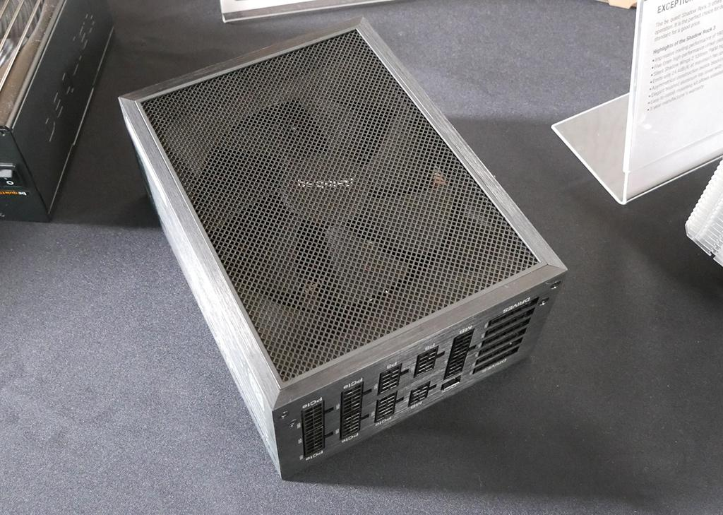 CES 2020: стенд Be Quiet! Флагманские БП Dark Power Pro 12, «новый» корпус и пара кулеров