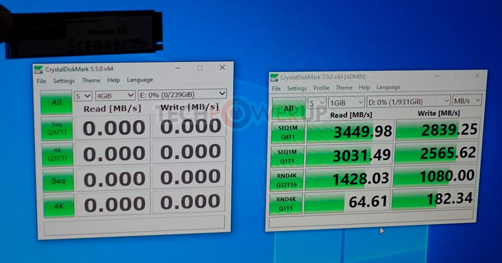 CES 2020: стенд Kingston. SSD Grandview с интерфейсом PCI-E 4.0 на контроллере Marvell и Seccos с PCI-E 3.0