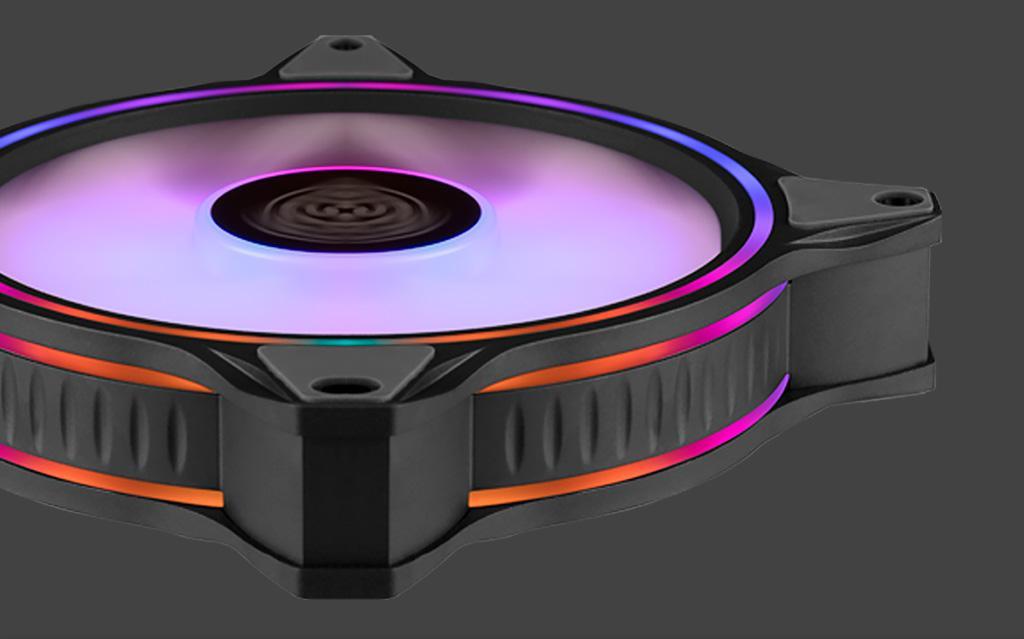 Cooler Master MasterFan MF120 Halo – сверхнадёжные «стодвадцатки» с необычной ARGB-подсветкой