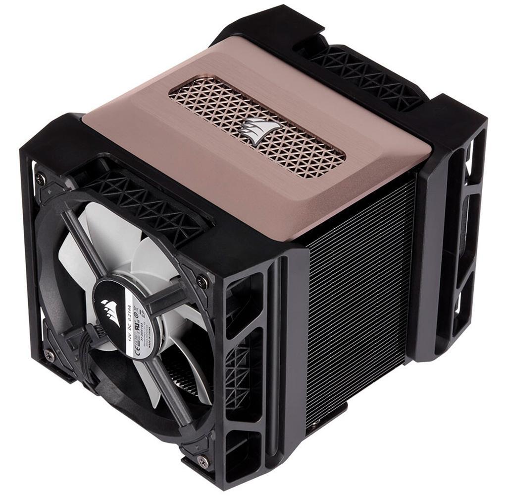 Процессорный кулер Corsair A500 при массе 1,5 кг претендует на звание суперкулера