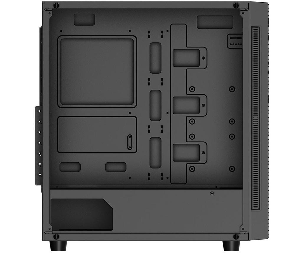 Корпус DeepCool Metrexx 55 Mesh 4F получил четыре вентилятора и сетчатую переднюю панель