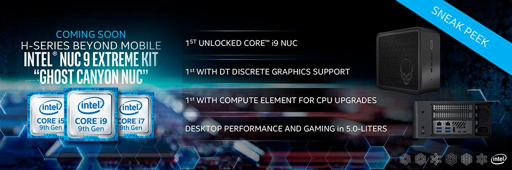 Процессоры Intel Comet Lake-H покорят 5 ГГц рубеж в составе мини-ПК и ноутбуков