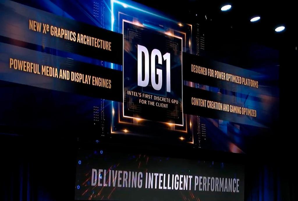 Intel продемонстрировала графику DG1 в деле