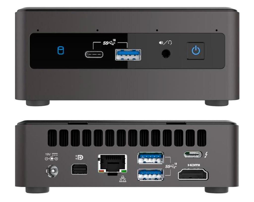 Intel NUC Panther Canyon и Phantom Canyon базируются на 10-нм процессорах Tiger Lake-U