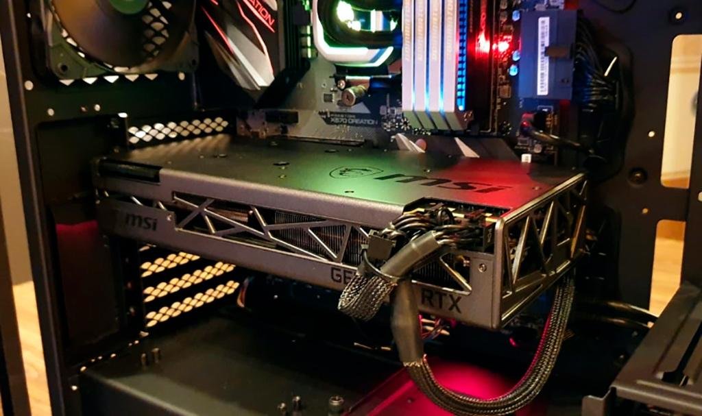 CES 2020: рассматриваем видеокарту MSI GeForce RTX 2070 Super Creation