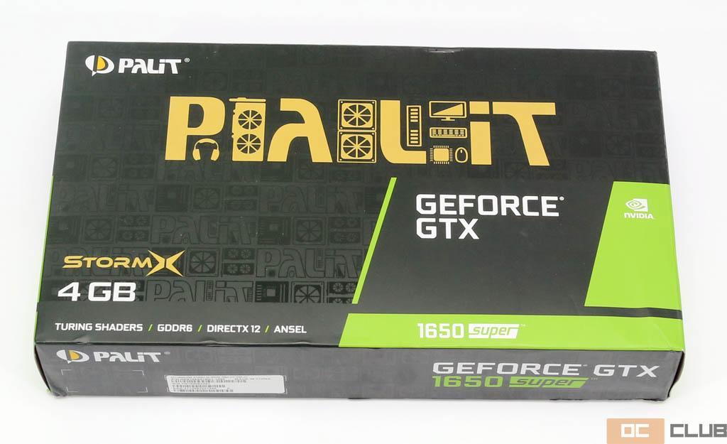 Palit GeForce GTX 1650 Super StormX: обзор. Идеологически правильное исполнение