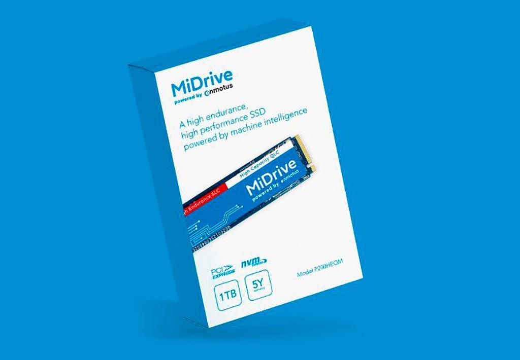 SSD Enmotus MiDrive используют одновременно и SLC-память, и QLC