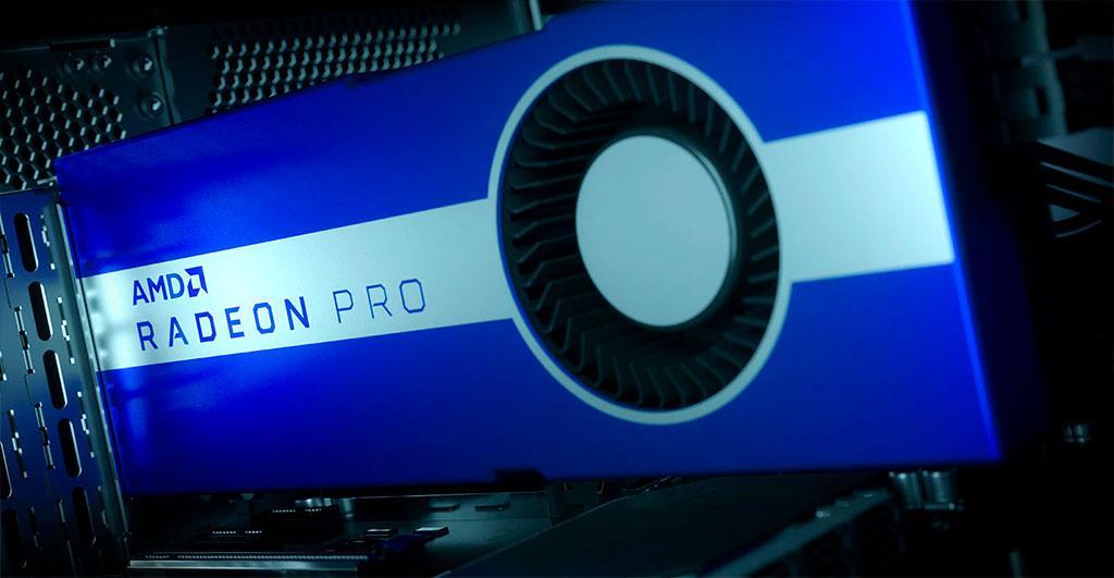 AMD Radeon Pro W5500 готовится завоёвывать профессиональный сегмент