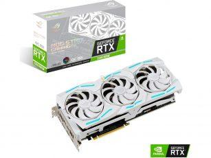 ASUS готовит снежно-белую RTX 2080 Super ROG Strix White Edition