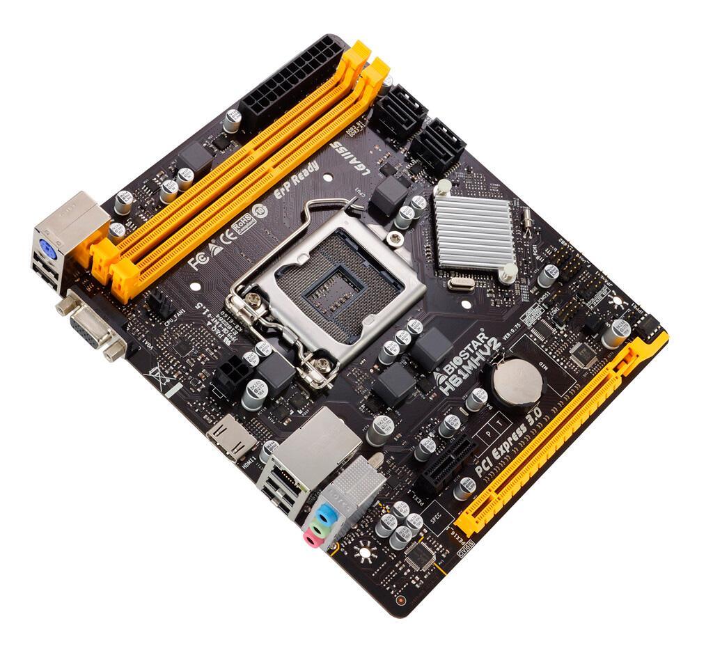 Назад в 2011: Biostar выпускает материнскую плату H61MHV2 на базе чипсета H61