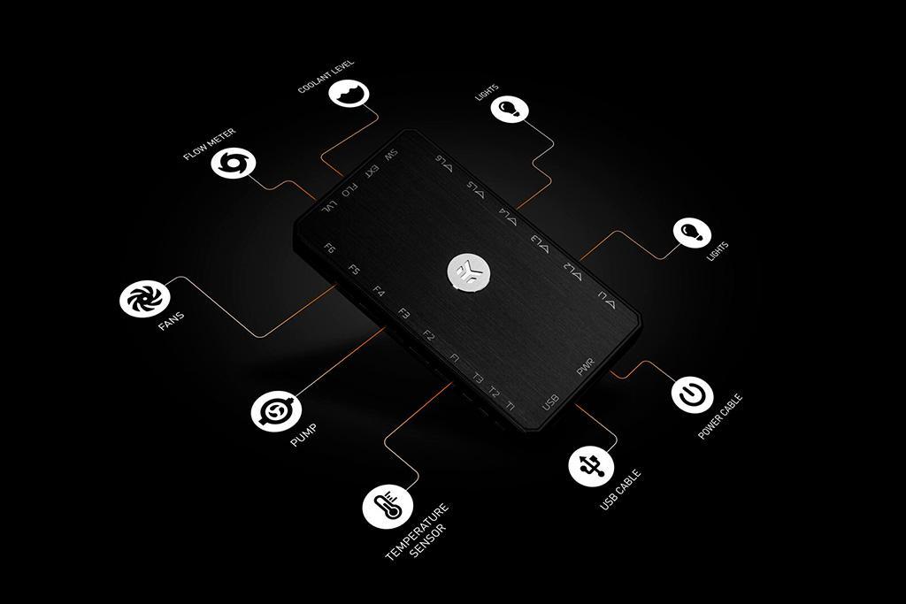 """EKWB EK-Loop Connect – контроллер для систем охлаждения и подсветки """"на максималках"""""""