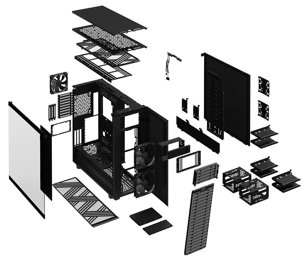 Fractal Design предлагает корпуса Define 7 и Define 7 XL