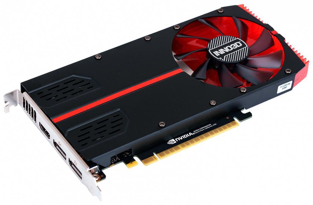 Inno3D GeForce GTX 1650 Single Slot уместилась в толщину одного слота