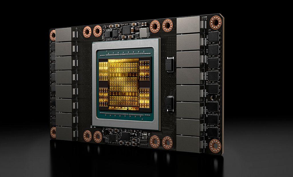 Ускорители NVIDIA Ampere в «сырой» вычислительной мощности двукратно превзойдут Volta