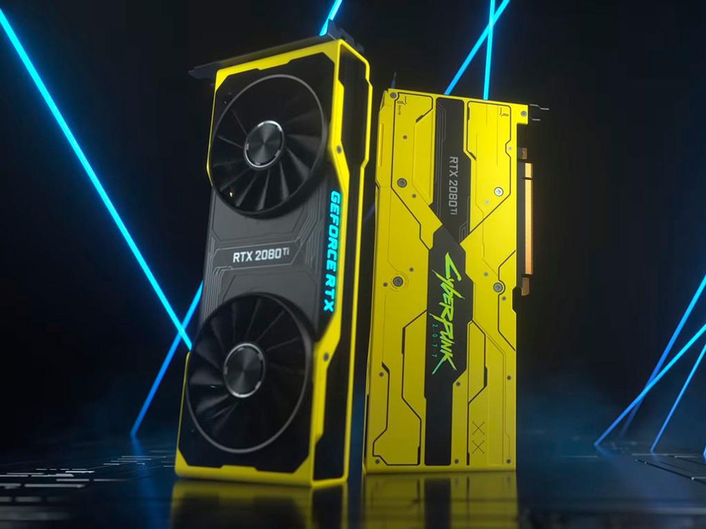 NVIDIA анонсировала GeForce RTX 2080 Ti Cyberpunk 2077 Edition