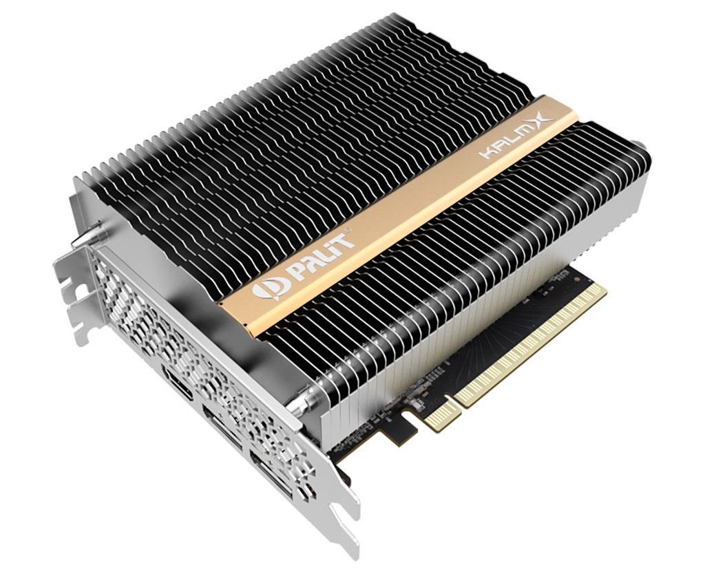 Palit GeForce GTX 1650 KalmX – первая GTX 1650 с пассивным охлаждением