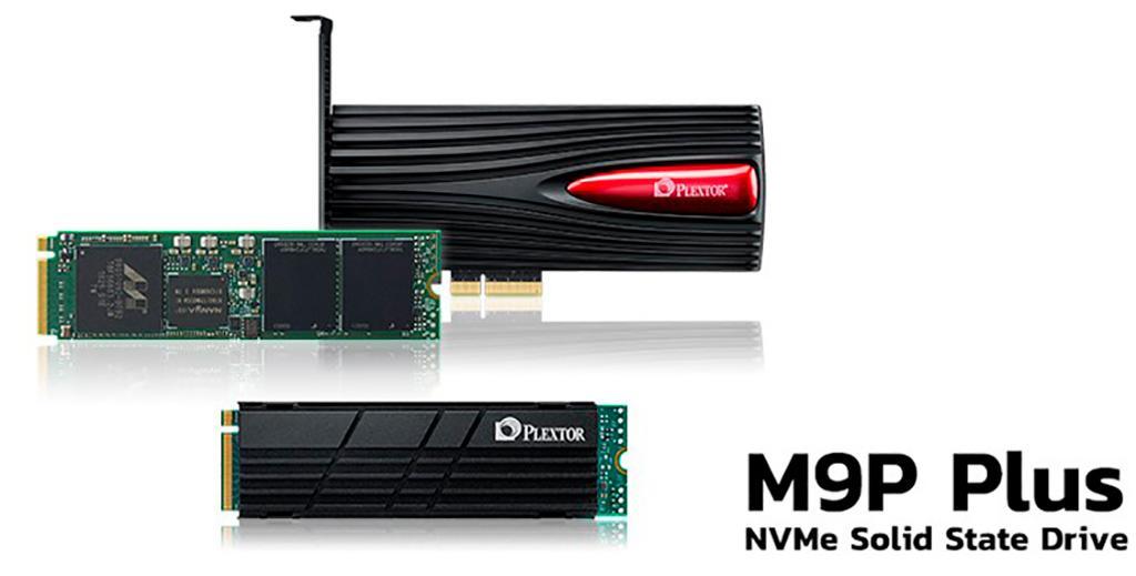 NVMe-накопители Plextor M9P Plus имеют три варианта исполнения, один из которых с RGB