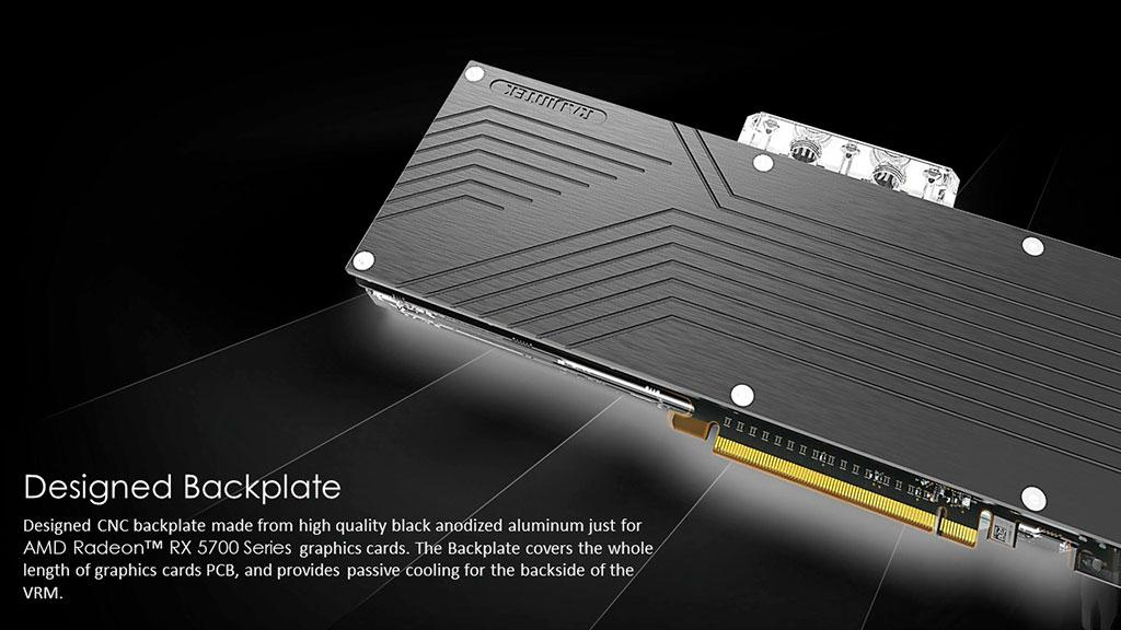 Водоблок Raijintek Samos AD5700 RBW адресован владельцам Radeon RX 5700 (XT)