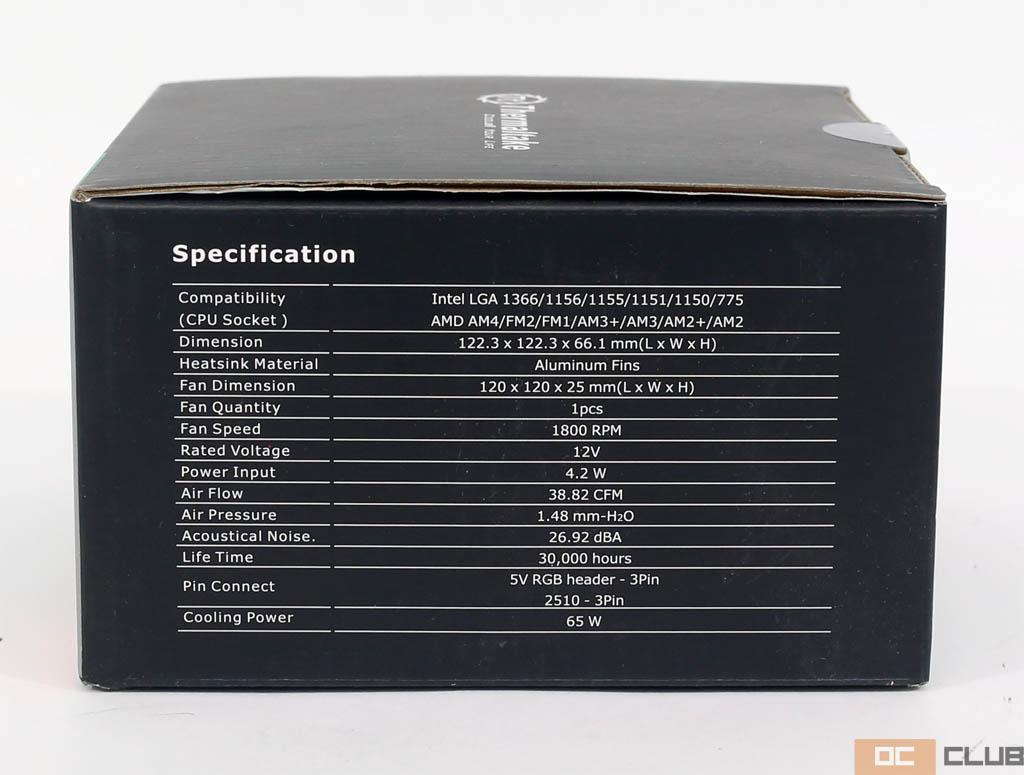 Thermaltake UX100 ARGB: обзор. Кулер за , да ещё и с подсветкой!
