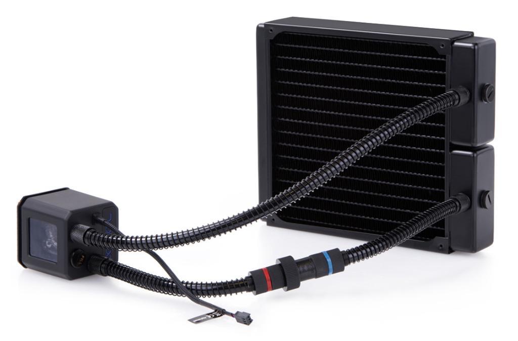 Alphacool Eisbaer 200 – необычная СВО под 200-мм пропеллер с медным толстым радиатором