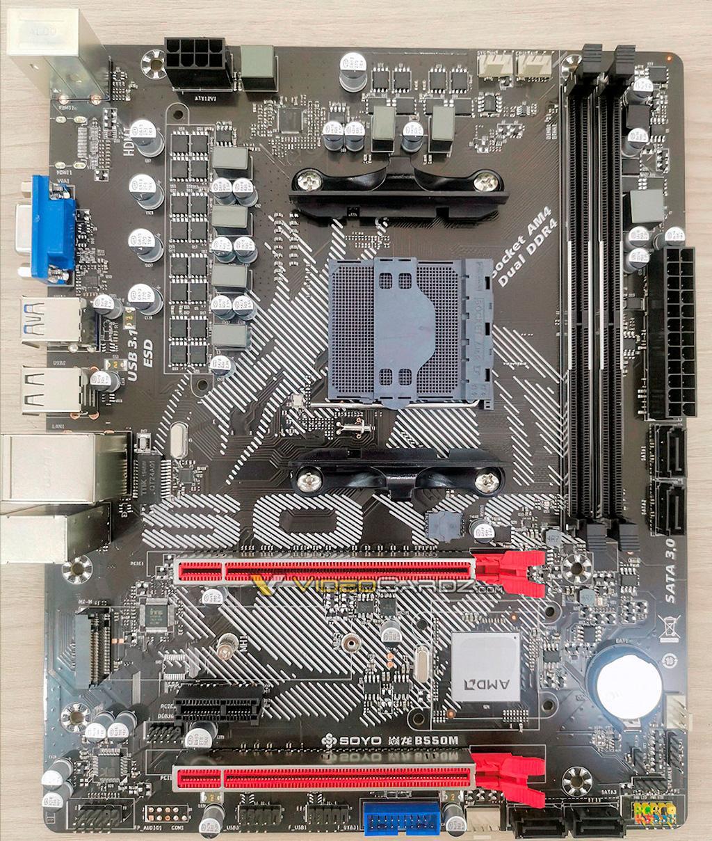 Рассматриваем первую материнскую плату с чипсетом AMD B550