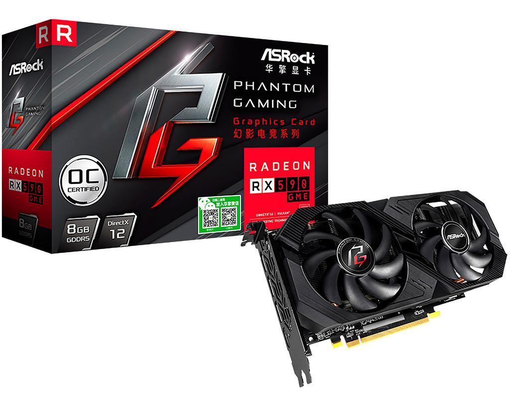 В Китае замечена видеокарта AMD Radeon RX 590 GME