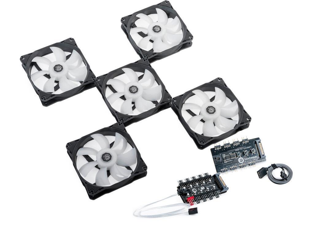 Вентиляторы Bitspower Touchaqua Notos 120 оптимизированы для радиаторов СВО