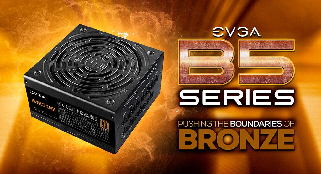 КПД блоков питания EVGA B5 переросло «бронзовый» сертификат, но до «серебра» не доросло