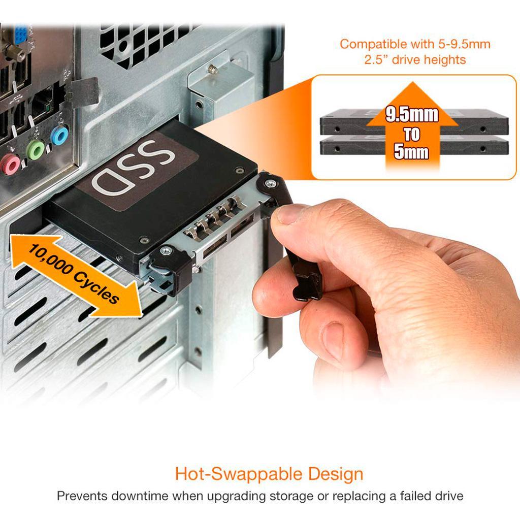 Адаптер Icy Dock MB839SP-B позволит установить SATA-SSD в слот PCI-Express