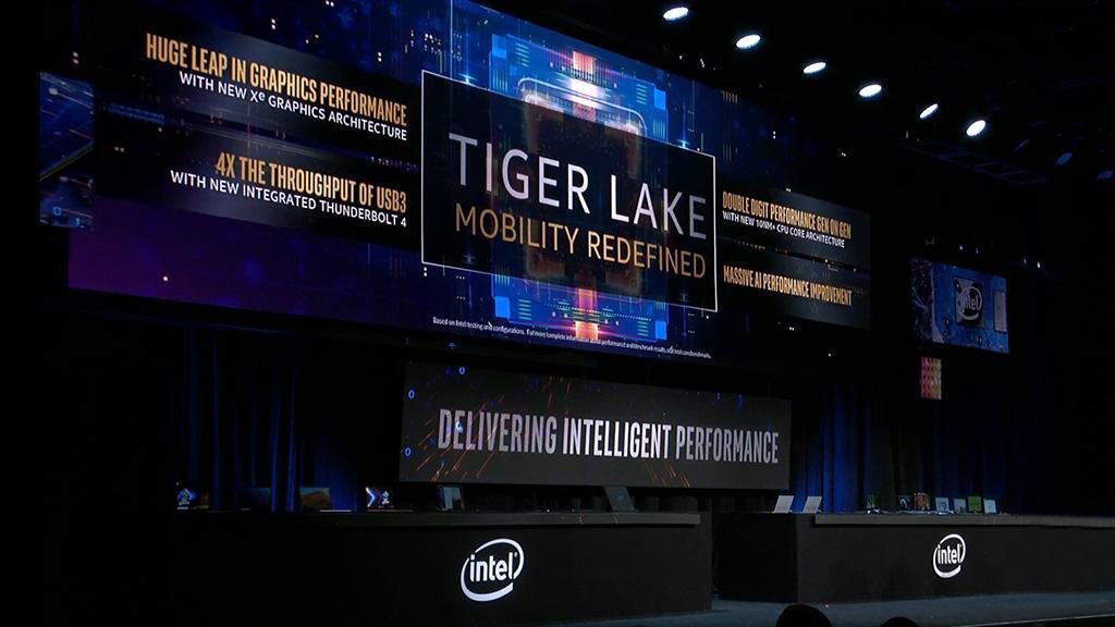 Графика процессоров Intel Tiger Lake оказалась бодрее, чем у лучших мобильных CPU AMD
