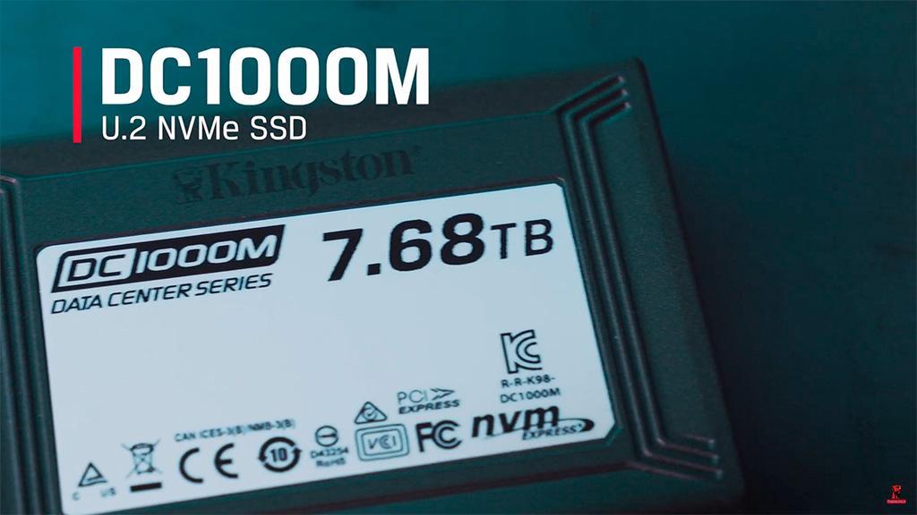 Серия накопителей Kingston DC1000M U.2 включают модели ёмкостью до 7,68 ТБ