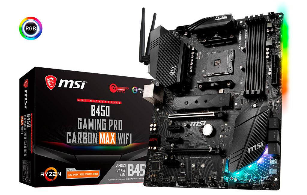 MSI выпустила две новые «материнки» на чипсете B450 с ёмкой микросхемой UEFI-BIOS