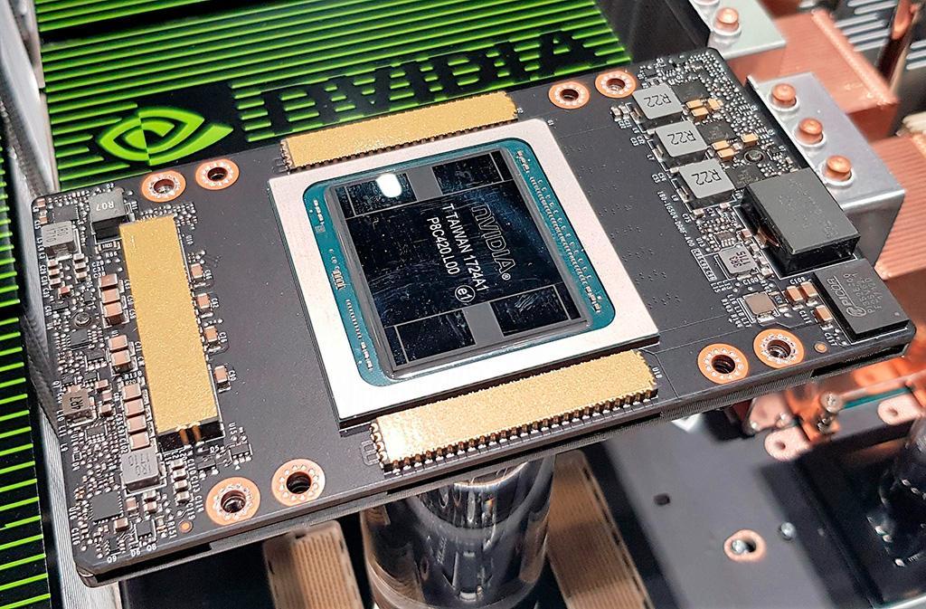 Замечен ускоритель NVIDIA Tesla с 7936 CUDA-ядрами