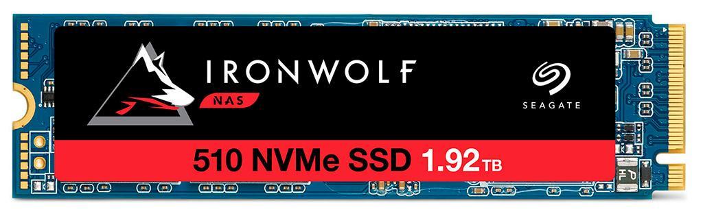 В серию NVMe-накопителей Seagate IronWolf 510 вошли модели ёмкостью до 1920 ГБ