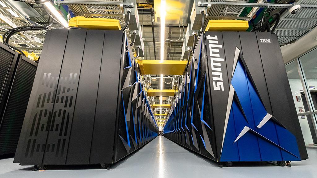 Самый мощный в мире суперкомпьютер Summit против коронавируса