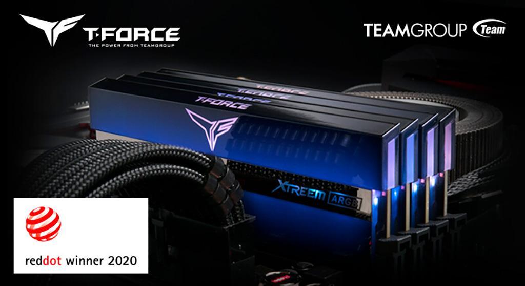 ОЗУ Team T-Force Xtreem Mirror ARGB получила награду Red Dot Design